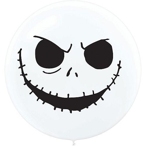 Jack Skellington Balloons 2ct - The Nightmare Before Christmas Image #2
