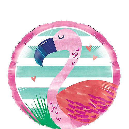 Striped Tropical Balloon, 18in Image #1