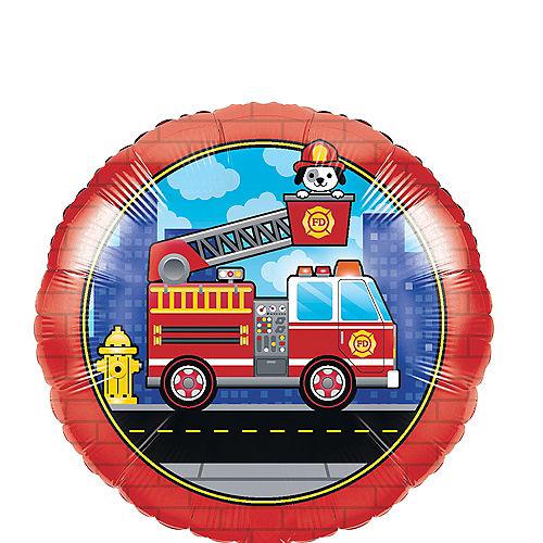 Fire Truck Balloon Image #1