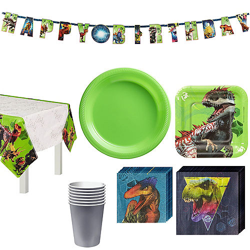Jurassic World Tableware Kit for 8 Guests Image #1