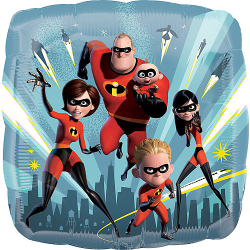 Incredibles 2 Balloon, 17in Image #1