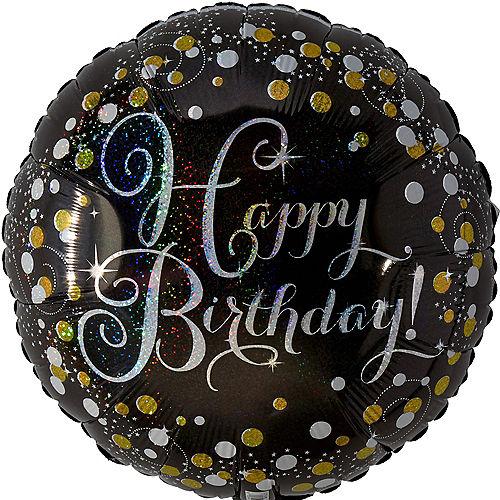 Prismatic Birthday Balloon - Sparkling Celebration Image #1