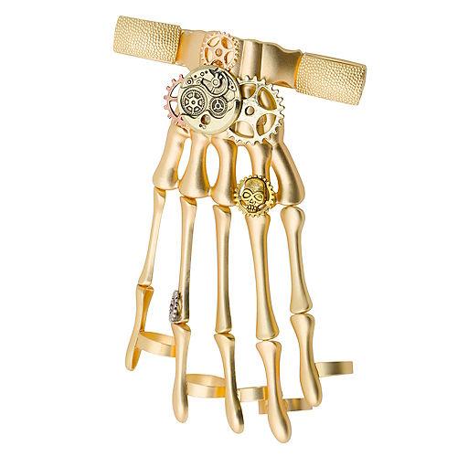 Gold Steampunk Hand Bracelet Image #1