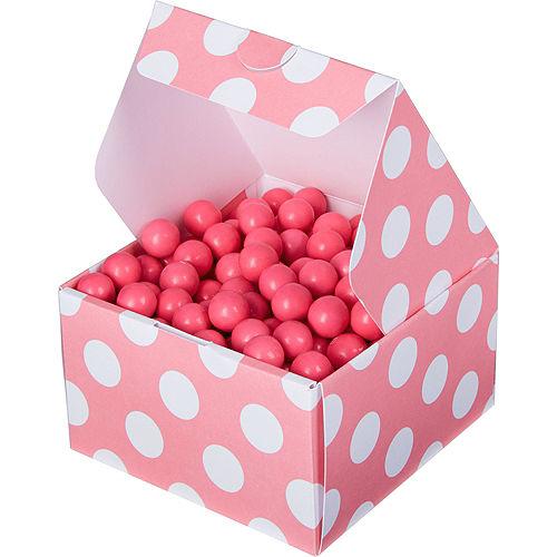 Pink Polka Dot Treat Boxes 10ct Image #1