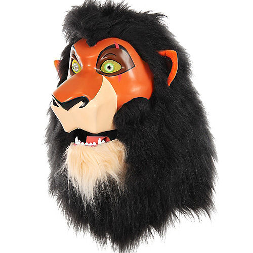 Adult Scar Mouth Mover Mask - The Lion King Image #1