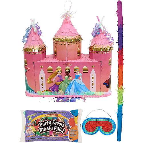 Disney Princess Castle Pinata Kit with Candy & Favors Image #1