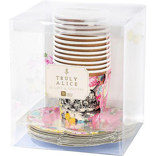Alice in Wonderland Tea Cup & Saucer Sets for 12 Image #2