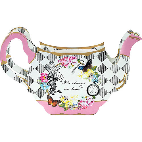 Alice in Wonderland Teapot Vase Centerpiece Image #1