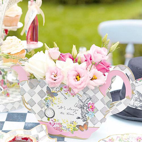 Alice in Wonderland Teapot Vase Centerpiece Image #2
