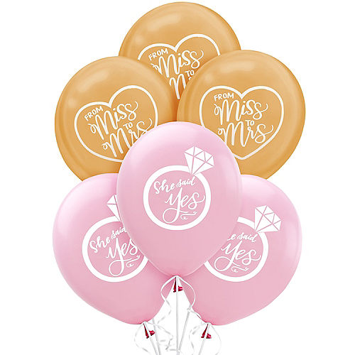 Mint to Be Wedding Balloons 15ct Image #1