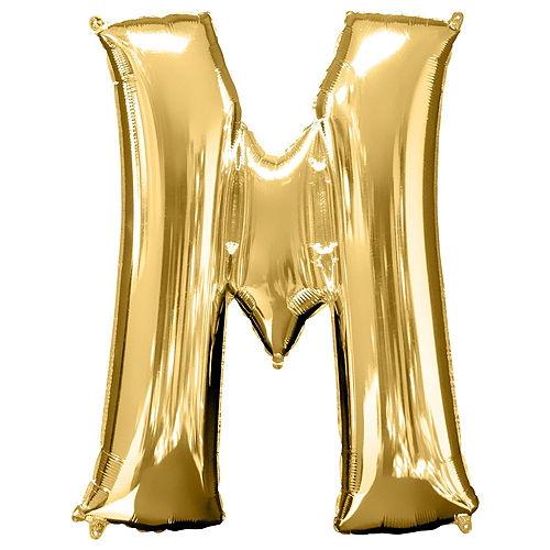 Giant Gold Be Mine Letter Balloon Kit Image #4