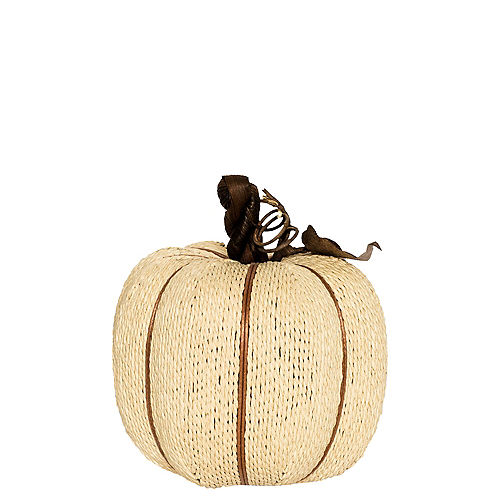Cream Rope Pumpkin Image #1
