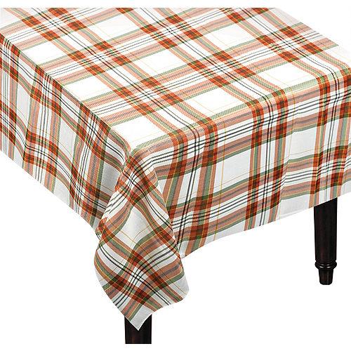 Fall Plaid Tablecloth Image #1