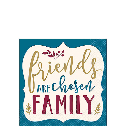 Friends Are Chosen Family Beverage Napkins 16ct Image #1