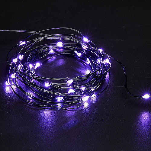 Small Purple String Lights Image #3