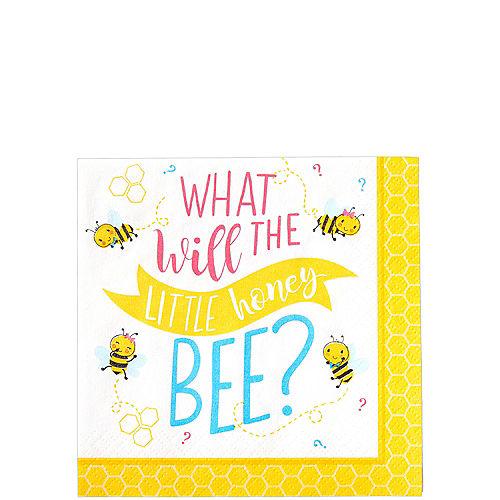 Little Honey Bee Beverage Napkins 16ct Image #1