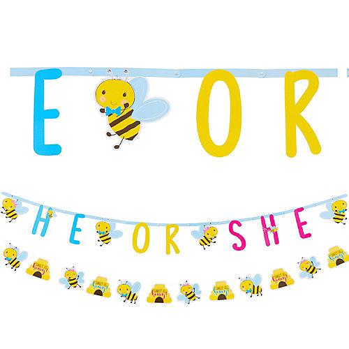 Little Honey Bee Letter Banner with Mini Banner Image #1