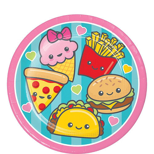 Junk Food Fun Tableware Party Kit for 16 Guests Image #2