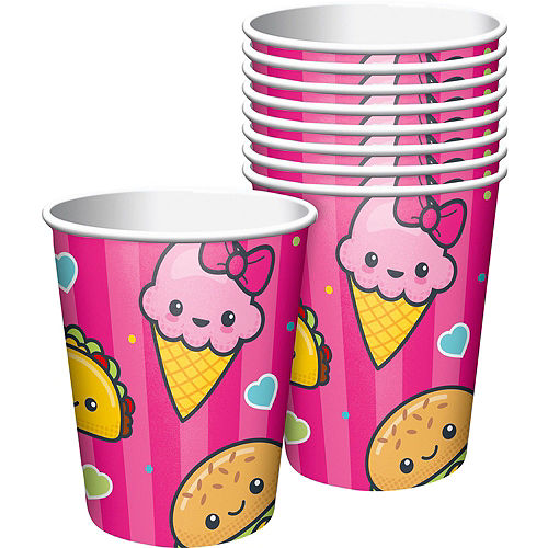 Junk Food Fun Tableware Party Kit for 16 Guests Image #6