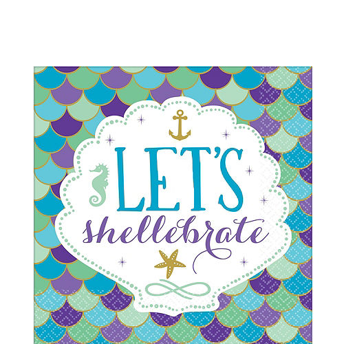 Wishful Mermaid Ultimate Party Kit for 16 Guests Image #5