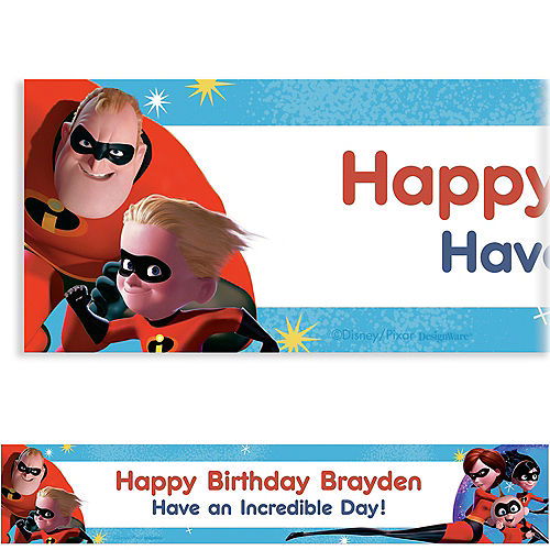 Custom Incredibles 2 Banner Image #1