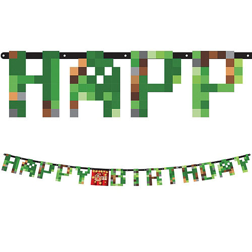 Pixelated Basic Party Kit for 8 Guests Image #9
