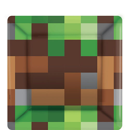 Pixelated Basic Party Kit for 16 Guests Image #2