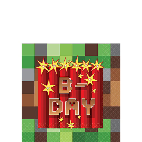 Pixelated Basic Party Kit for 16 Guests Image #4