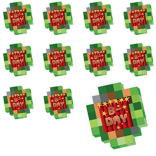 Pixelated Notepads 24ct Image #1