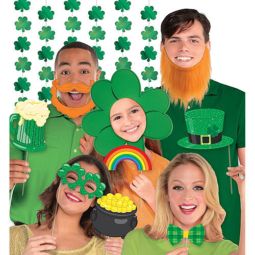 St. Patrick's Day Photo Booth Deluxe Kit Image #1