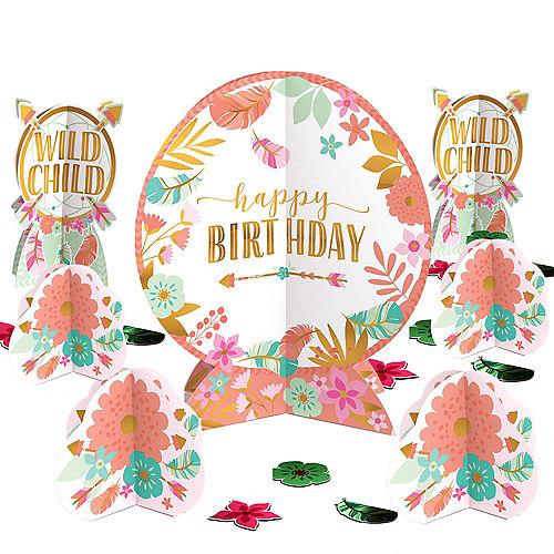 Boho Girl Table Decorating Kit Image #1