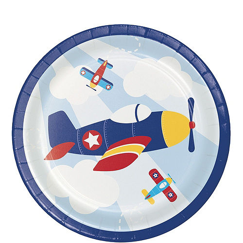 Airplane 1st Birthday Deluxe Party Kit for 32 Guests Image #2