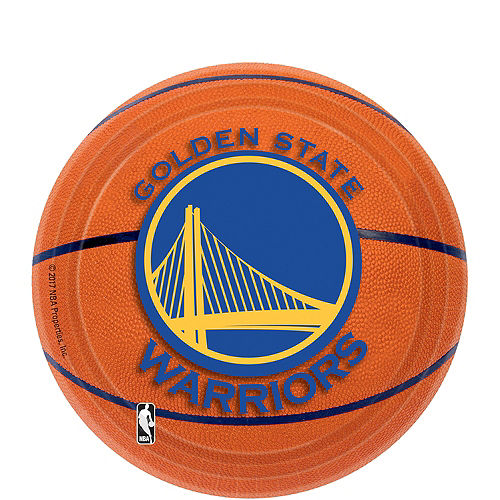 Golden State Warriors Dessert Plates 8ct Image #1