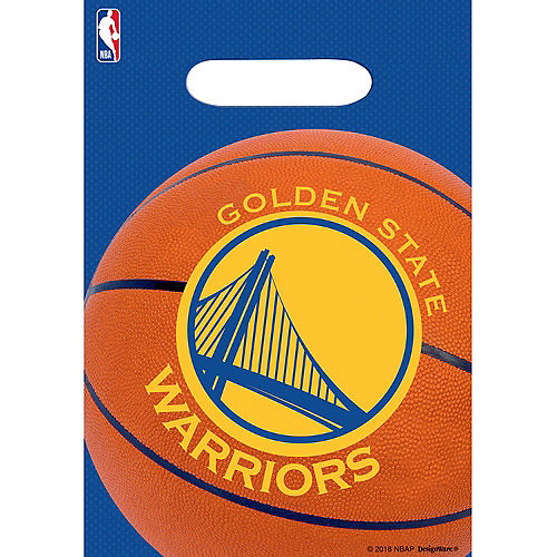 Golden State Warriors Favor Bags 8ct Image #1