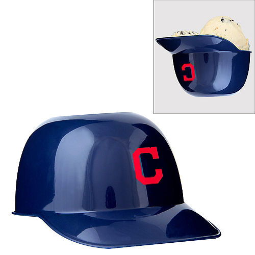 Cleveland Indians Helmet Treat Cup Image #1