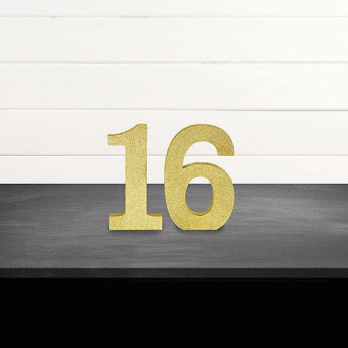 Glitter Gold 16 Sign Kit Image #1