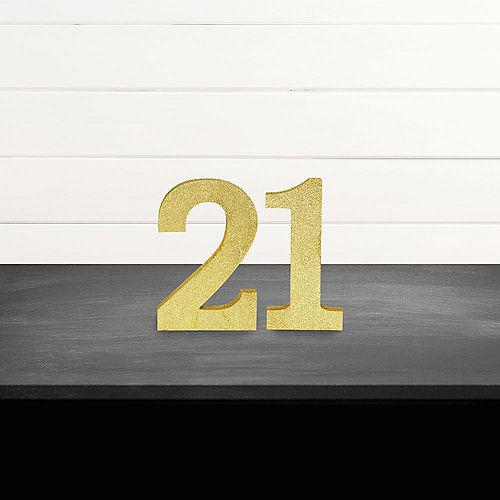 Glitter Gold 21 Sign Kit Image #1