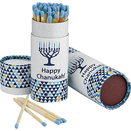 Blue Hanukkah Matches 60ct Image #1