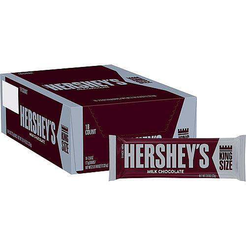 Milk Chocolate King Size Hershey's Bars 18ct Image #1