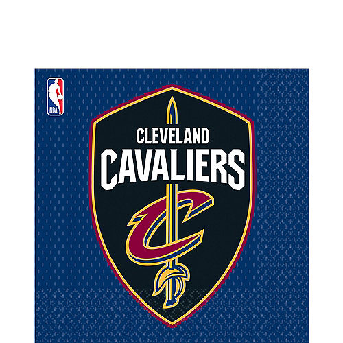Cleveland Cavaliers Lunch Napkins 16ct Image #1