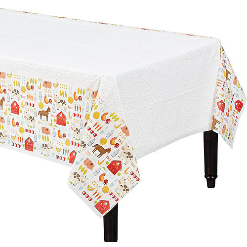 Friendly Farm Table Cover Image #1