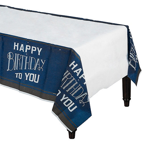 Happy Birthday Classic Table Cover Image #1