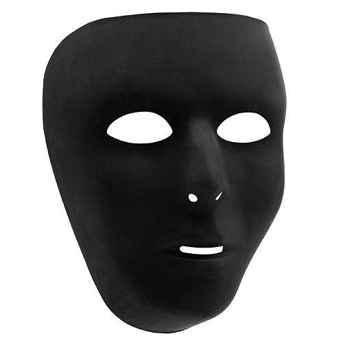 Black Face Masks 10ct Image #2