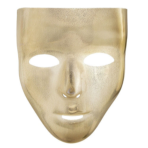 Gold Face Masks 10ct Image #2