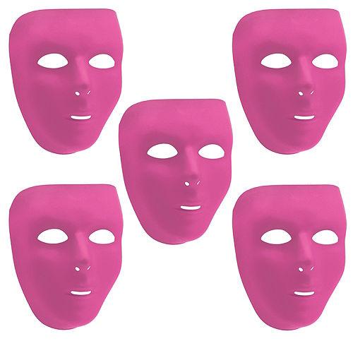 Pink Face Masks 10ct Image #1