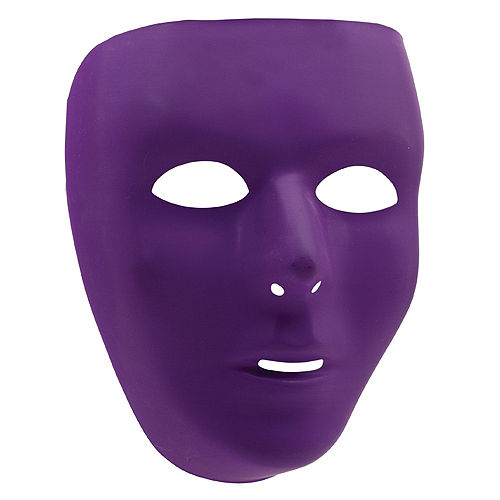 Purple Face Masks 10ct Image #2