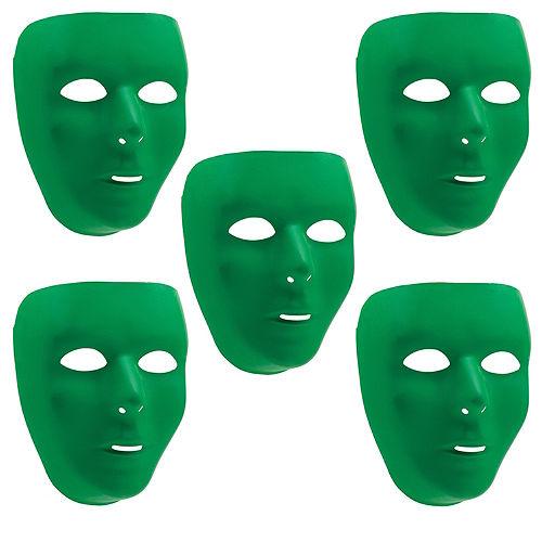 Green Face Masks 10ct Image #1
