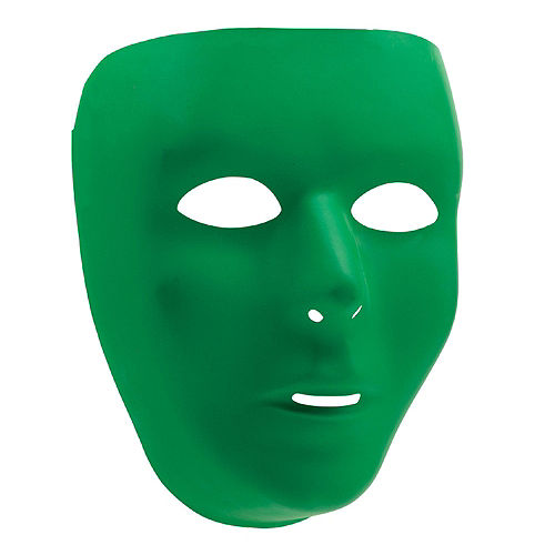 Green Face Masks 10ct Image #2