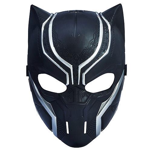 Child Black Panther Mask Image #1