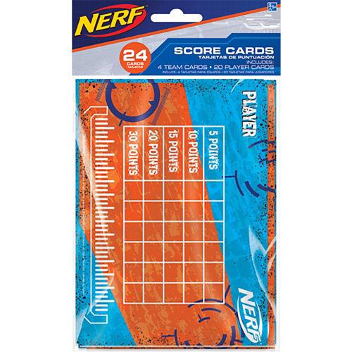 Nerf Score Cards 24ct Image #1